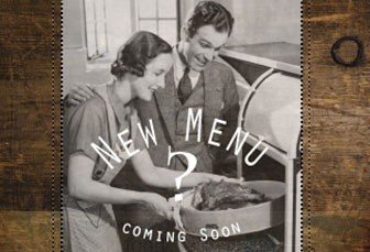 New Menu – Coming Soon!