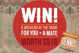 Win a trip to the Snow!
