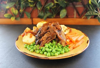 SUNDAY: ROAST WITH ALL THE TRIMMINGS $19