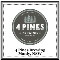 4 Pines Brewing at Dove & Olive