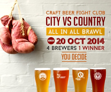 Craft beer fight club dove and olive for Craft beer vs microbrew